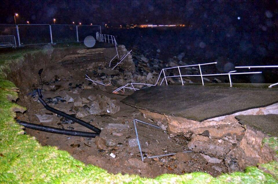 Strorm Damage Newlyn Green