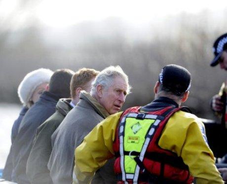 Prince Charles Visits Somerset