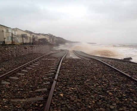 Dawlish flooding