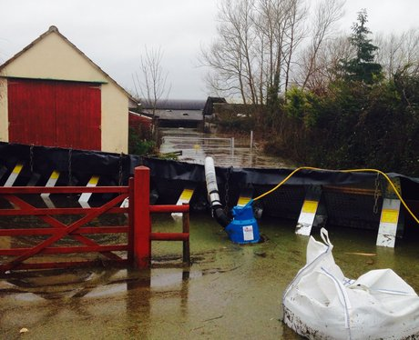 Somerset floods Feb 2014 Moorland