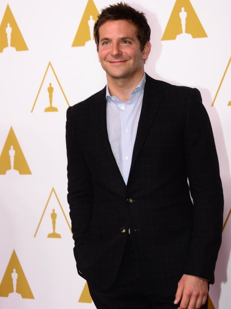 bradley cooper on the red carpet at the oscar lunc