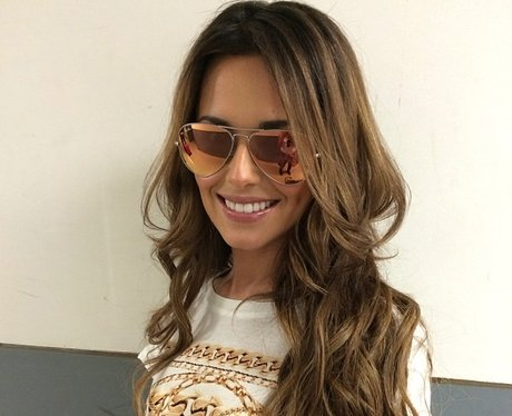 cheryl cole wearing sunglasses