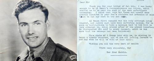 Fred Harris in World War II