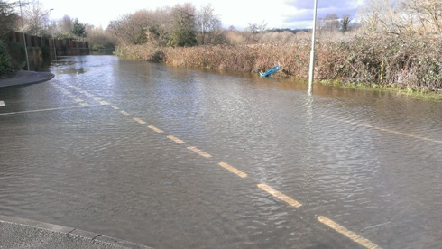 Romsey flooding