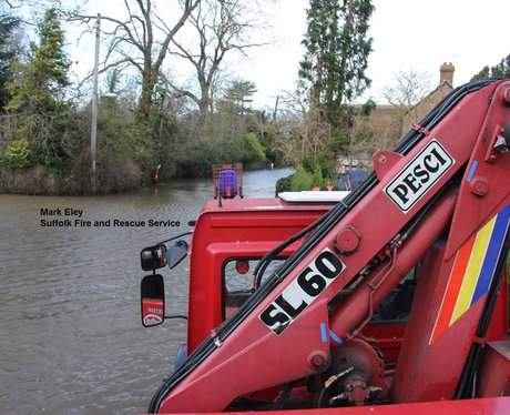 Suffolk Fire and Rescue - Floods