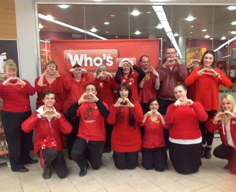 Valentine's at Sainsburys