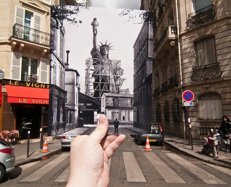 Paris - Then & Now