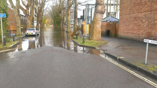 Winchester flooding