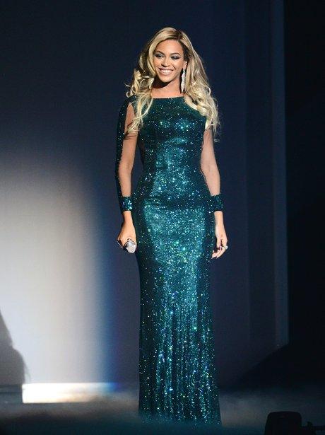 Beyonce onstage