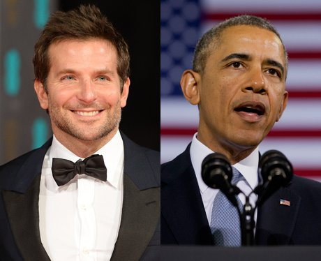 Bradley Cooper and Barack Obama