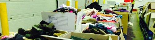 Donation centre Bridgwater