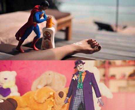 Miniature mini heroes