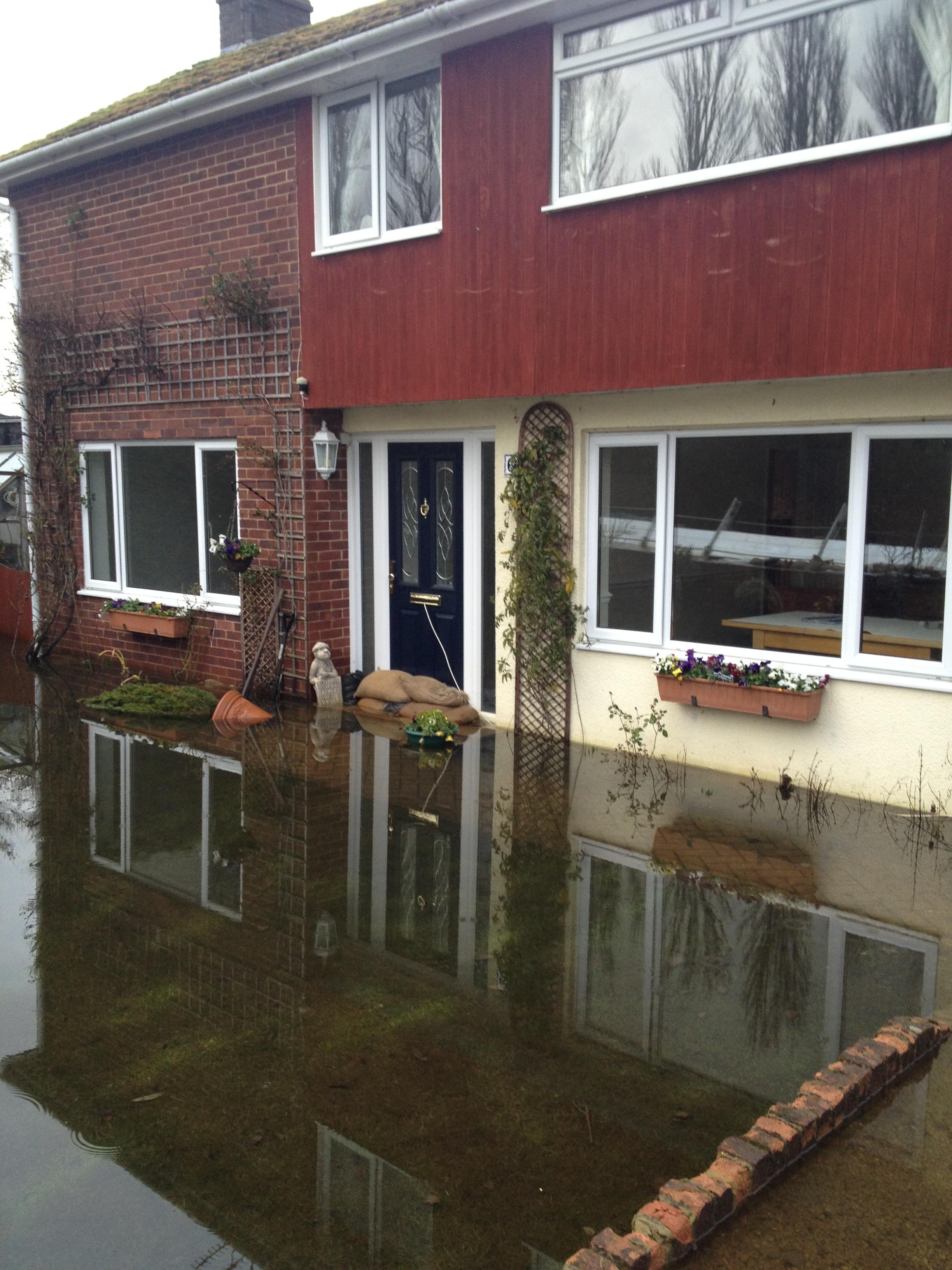Romsey floods Feb 2014