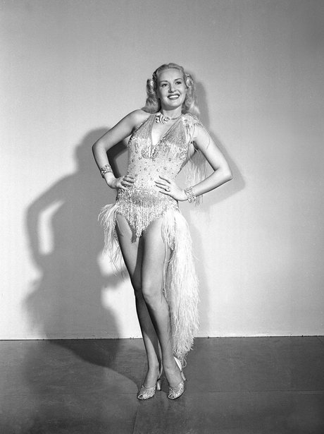 Betty Grable in costume