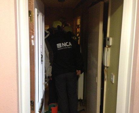 Exeter drug raids