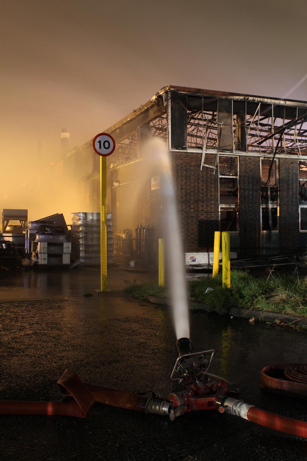 Fareham Retail Park fire