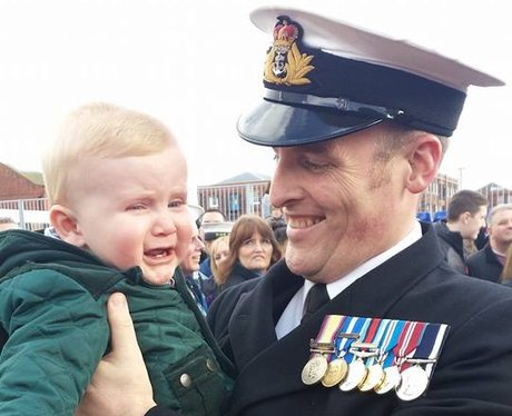 Crew reunited with family after 9 months