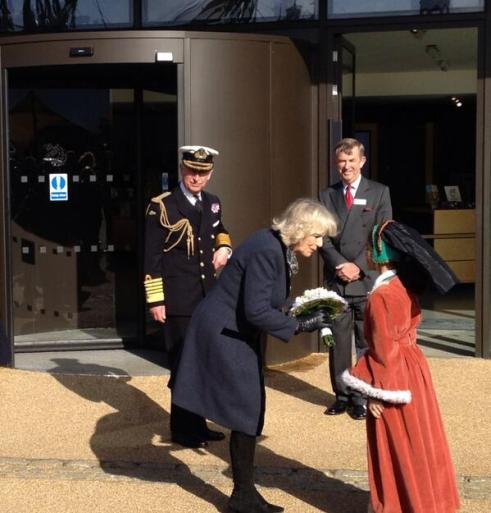 Prince Charles Camilla Portsmouth