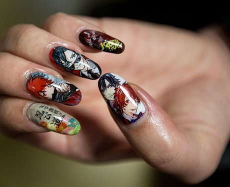 nails at anna sui pfw