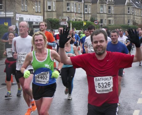 2014 Bath Half Marathon - THE RACE