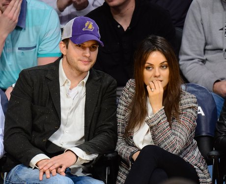 Ashton Kutcher and Mila Kunis engagement ring