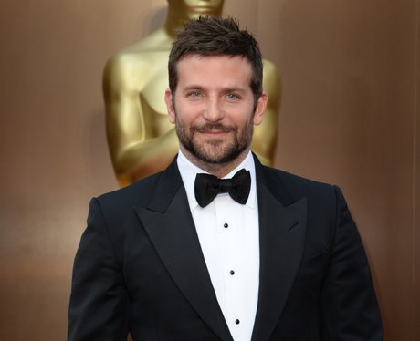 Bradley Cooper on the red carpet at the Oscars 2014