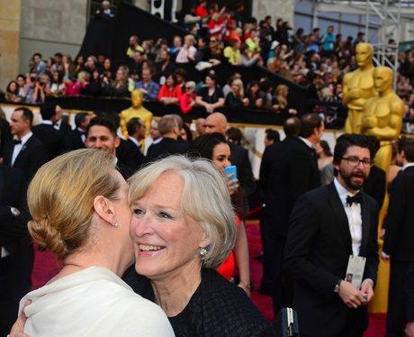 Meryl Streep and Glenn Close Oscars 2014
