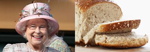Queen sliced bread