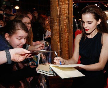 Emma Waton meets fans