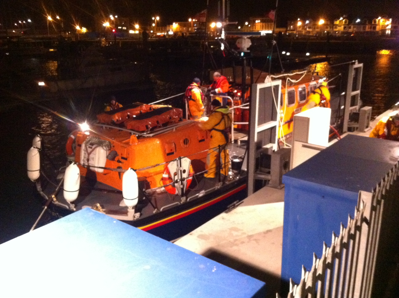 Lowestoft life boat