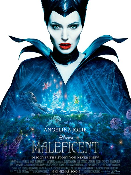 MALEFICENT poster Angelina Jolie