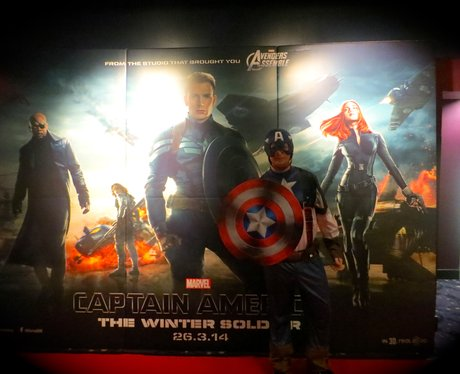 Captain America Premier screening