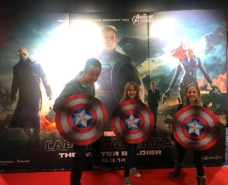 Captain America Premier screening