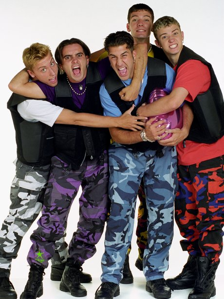 NSync Embarrassing in camouflage trousers