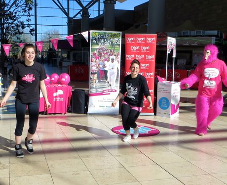 Race For Life Launch Milton Keynes 2014