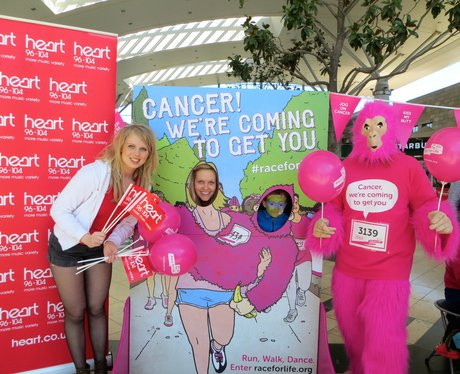 Race For Life Launch Milton Keynes 2014