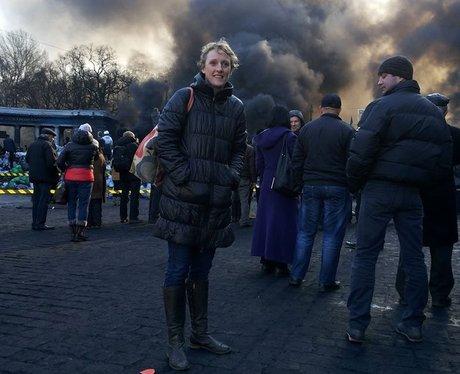 Ukraine protestors