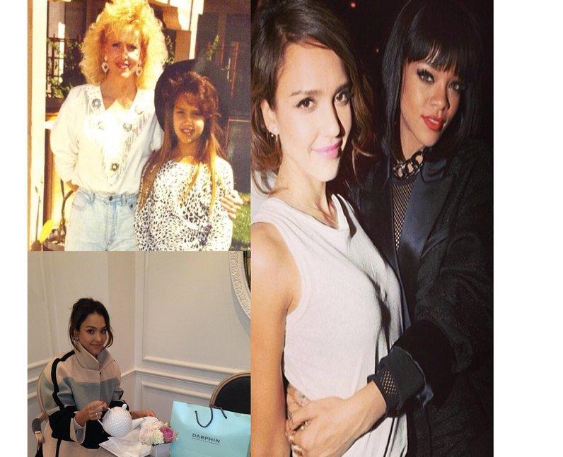 Photos from Jessica Alba's Instagram