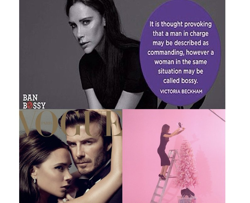 Photos from Victoria Beckham's Instagram