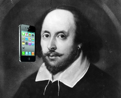William Shakespeare iPhone