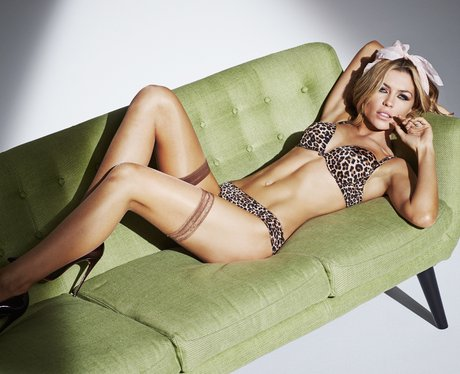 Abbey Clancey models Ultimo Collection
