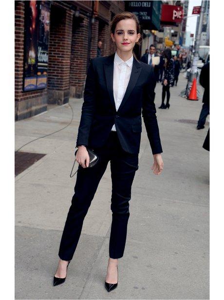 Emma Watson in a suit