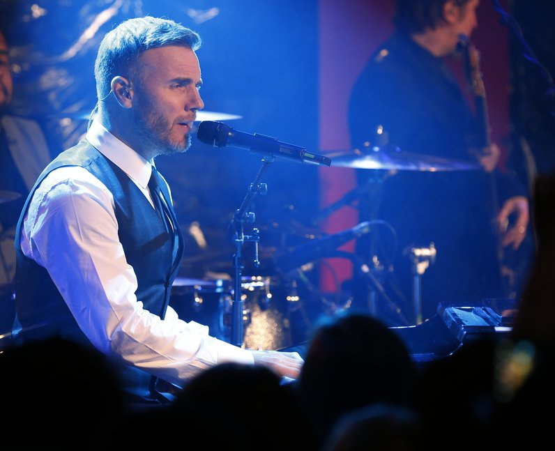 Gary Barlow's Exclusive Gig For Heart With Boots