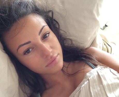 Michelle Keegan without make up