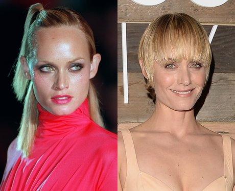 Amber Valletta then and now