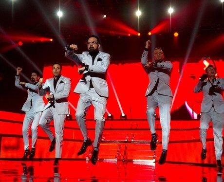 Backstreet Boys perform in Amsterdam