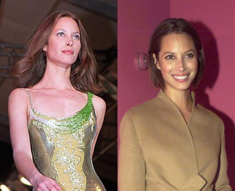 christy turlington then and now