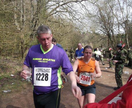 Forest of Dean Half Marathon 2014 During The Marat