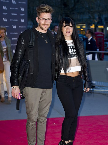 Henry Holland and Lily Allen