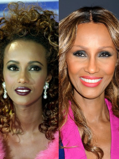 iman then and now